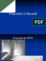 Fracturi Si Luxatii
