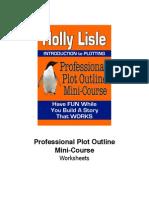 Professional Plot Outline WORKSHEETS