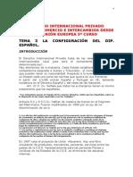 DERECHO INTERNACIONAL PRIVADO ESPAÑOL