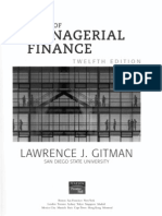Managerial Finance by Gtman 5th Edition