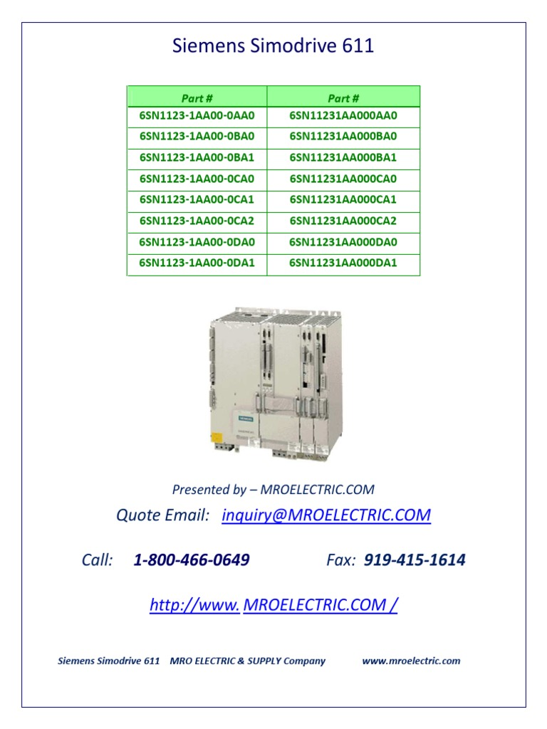 6sn1123-1aa00-0aa0-manual | Electrostatic Discharge | Manufactured Goods