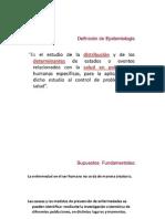 a) Epidemiología DGE