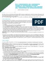 f24 con elementi identificativi per colf e badanti