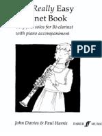 CLARINETE - MÉTODO - Método realmente fácil (The Really Easy Clarinet Book)