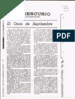 El Mercurio Editorial 1974