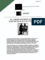 El Asesinato Ritual Del Zar Nicolas 2 y Su Familia