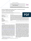 The Fate of Fungicide and Insecticide Residues in Australian Wine Grape