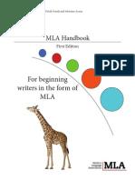 mla handbook final