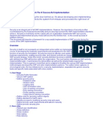 SAP Security Implementation FrameWork