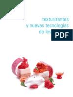 Texturizantes y Nuevas Tecnologias de Los Sabores
