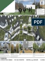 Plachta 1. Jan Hanzlík, diplomová práce Mlýnská ulice v Teplicích - reurbanizace, 2012/13, Fakulta architektury ČVUT