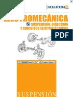 Suspensión, dirección y circuitos electrotécnicos