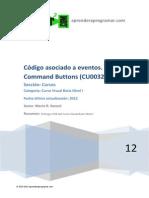 CU00321A Eventos Visual Basic Command Buttons Propiedades y Ejemplos