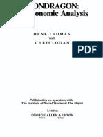 Mondragon an Economic Analysis-1982
