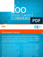 The Top 100 Most Loved Companies