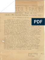 740th Inside Track Newsletter June 1945