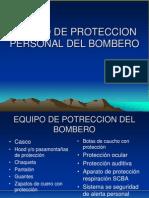Equipo de Proteccion Personal Del Bombero