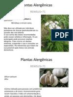 Plantas Alergênicas