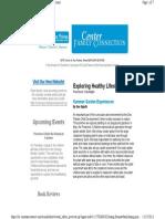 OHU Des Plaines CDC Newsletter Aug. 2013