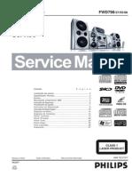 Dvd Mini System Fwd798 37-55-98