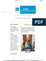 OHU Glenview CDC Newsletter Sep. 2013