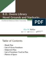 B.D. Owens Library Starbucks