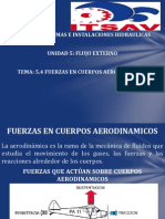 Fuerzas en Cuerpos Aerodinamicos