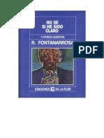 7143307 Fontanarrosa Roberto No Se Si He Sido Claro