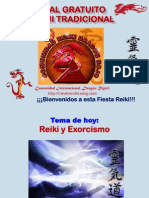 Tutorial Reiki y Exorcismo