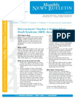 OHU Pickus CDC Newsletter Oct. 2013