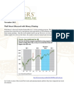 Wall Street Obsessed With Money Printing - What Happens to QE From Here - Gevers Wealth Management LLC