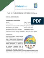 92428357 Plan de Trabajo de Municipio Escolar 2012