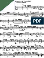 Coste, Napole¦üon _Introduction et Variations