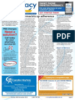 Pharmacy Daily for Tue 26 Nov 2013 - Pharmacists increase adherence, Pharmacists trusted less, New Sydney lectureship, Guild Update and much more