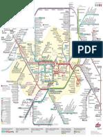 Plan de metro de Karlsruhe