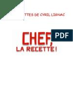 Les Recettes de Cyril Lignac