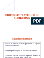 Proceso estratégico de MARKETING  20112jaf