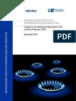 Public_report_ogp Macroeconomic Effects of European Shale Gas Production