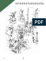 Hoover SteamVac F5857-900 Schematic