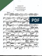 Carulli, Ferdinando _Rondeau Pour 2 Guitarres