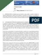 Eficacia Entre Particulares (Diccionario de Derechos Humanos)