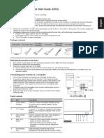 Acer S230HL Bmii LED Backlit Monitor Quick Start Guide