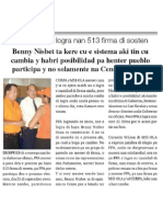 Benny Nisbet - Mester Cambia Systema Di Firma - Awemainta