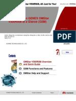 GENEX OMStar V500R008 Function Training (GSM) 0.6-A