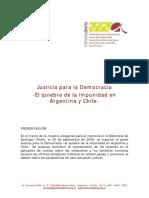 Quiebre de Impunidad de Chile y Argentina
