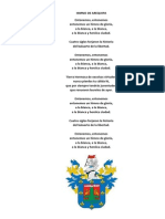 Himno de Arequipa