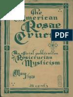 AMORC - The American Rosae Crucis, May 1920