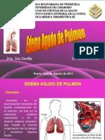 Seminario Edema Agudo de Pulmon Belkis Armas