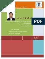 Indecibilidad - Johan Rodríguez