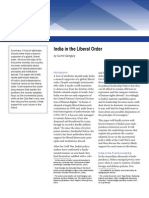 India in the Liberal Order